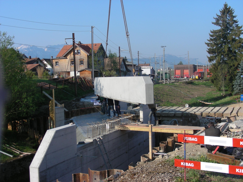 Bahnbrücke Gais