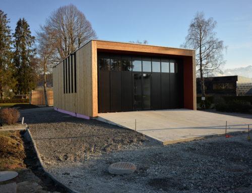 Neubau Bestattungskapelle Gais