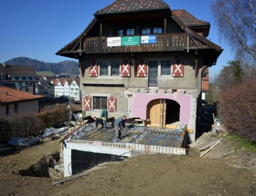 Umbau Wohnhaus mit Garage, Mettler, Herisau